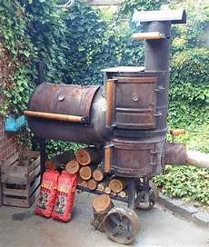 File Smoker Grill Eigenbau Jpg Wikimedia Commons