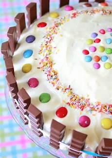 kinderriegel torte rezept anleitung kinderriegel