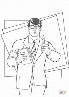 newspaper coloring pages printable 17707 clark kent is a journalist for the daily planet a metropolis newspaper coloring page free