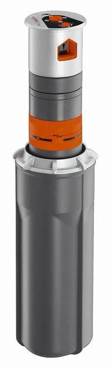 gardena sprinklersystem turbinen versenkregner t 200 premium
