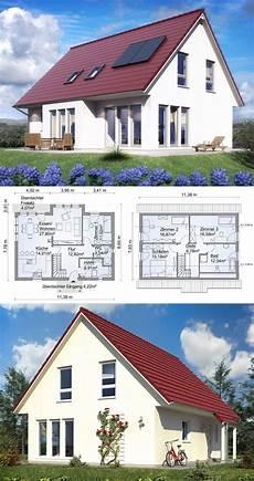 fertighaus modern mit satteldach architektur