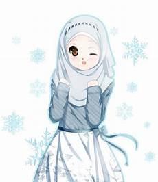 Muslimah Anime Drawing Hijaber
