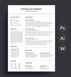 resume layout in microsoft word 207