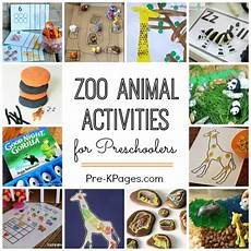 animal themed worksheets 14062 zoo activities for preschoolers pre k pages