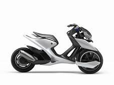 Yamaha Presents 03GEN Three Wheel Scooter Concepts  Car