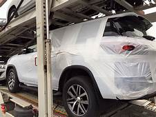 2016 Toyota Fortuner SUV Spotted In Thailand  Photos