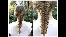 mermaid tail braid hairstyle hair tutorial mermaid tail braid tutorial hairandnailsinspiration