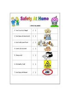 english worksheet safety at home science assess pinterest safety at home english and