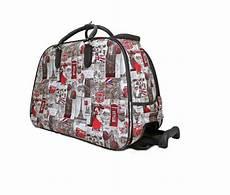 damen reisetasche mit rollen neu damen reisetasche druck mit rollen griff