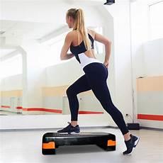 pedana step pedana da step aerobica fitness stepper muscoli palesta