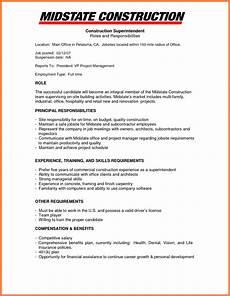 9 construction company resume template company letterhead