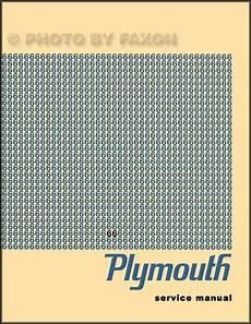 plymouth service repair manual download pdf 1966 plymouth repair shop manual 66 barracuda valiant belvedere satellite fury ebay