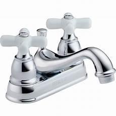 Lowe S Canada Bathroom Sink Faucets by Peerless Chrome 2 Handle Bathroom Sink Faucet Drain