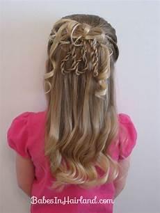 fancier 3 rope braid loop hairstyle kid s braided