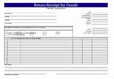 16 delivery receipt templates pdf word doc excel sles