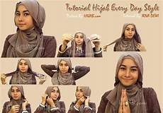Tutorial Jilbab Pashmina Untuk Muka Bulat Wajah