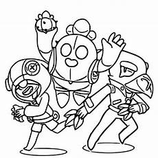 Malvorlagen Brawl Coloring And Drawing Brawl Coloring Pages All Brawlers