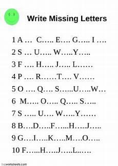 writing alphabet worksheets for grade 1 22844 the alphabet interactive worksheet