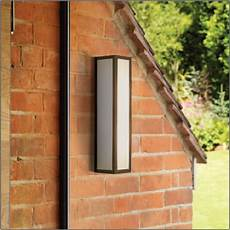 salerno 0848 black outdoor wall light with white opal glass diffuser ip44 ax0848