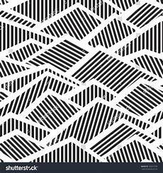 Geometric Abstract Black And White