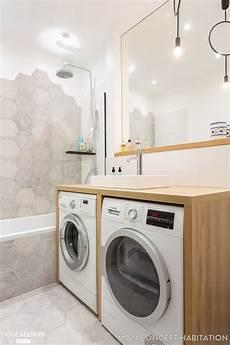 deux machines 224 laver ont trouv 233 refuge sous le meuble