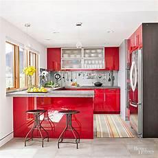 red kitchen design ideas