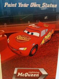 disney pixar cars paint your own mcqueen mater take five a day