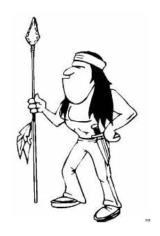 Malvorlagen Indianer X Reader Grimmiger Indianer Ausmalbild Malvorlage Comics