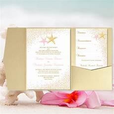 diy pocket fold wedding invitation confetti etsy