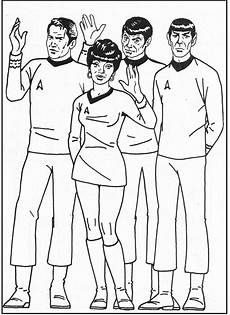 trek coloring picture for trek