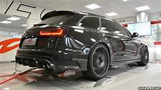 audi rs6 r 730hp audi rs6 r abt with milltek exhaust sound on