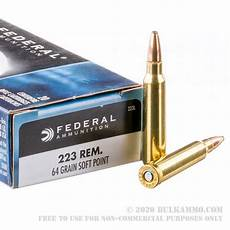 223 best images about traditional 20 rounds of bulk 223 ammo by federal 64gr sp