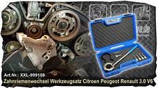 Zahnriemen Wechseln Beim 3 0l V6 Motor Renault