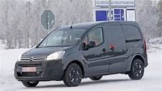 2018 citroen berlingo spied for the time