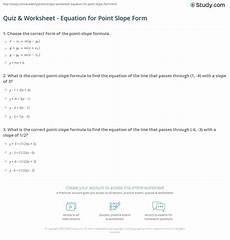 algebra worksheets point slope form 8541 4 3 writing equations in point slope form worksheet answers tessshebaylo