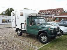 mercedes g wohnmobil mb exotenforum sonderkarossen umbauten tuning mercedes g wohnwagen