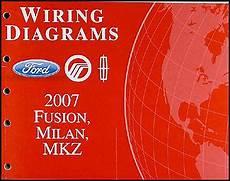 2007 fusion milan mkz repair shop manual 2 volume set original