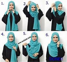 Cara Pakai Shawl With Tutorial Hijabiworld