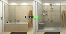 doccia e vasca sostituzione vasca con doccia trasformazione spazio