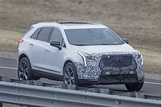 2020 cadillac xt5 facelift spied with redesigned bumpers