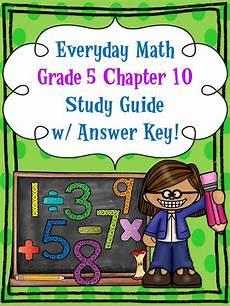 everyday math grade 5 ch 10 study guide w answer key md mathematics worksheets