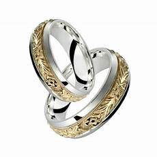 10k yellow gold w sterling silver ring elegant floral design engagement band ebay