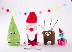 Auch Zu Weihnachten Kann Mit Klorollen Basteln