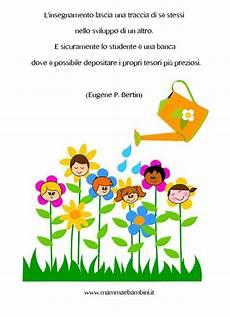 frasi per le maestre adatte per salutare e ringraziare mamma e bambini