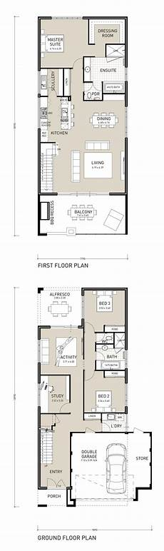 beach house plans for narrow lots sunset exclusive two storey house plans beach house