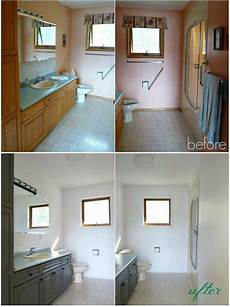 Bathroom Before And After Modern by Easy Cheap And Impactful Bathroom Update Home