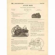 august mietz 1916 gas engines pumps compressors vintage catalog ebid united states