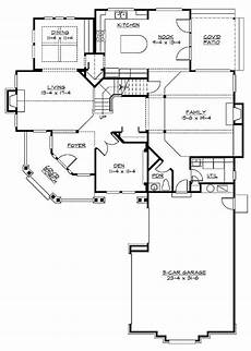 rambler style house plans plan 2348jd rambler with vaulted living room craftsman