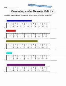 measurement worksheets not starting at zero 1380 measure to the half inch worksheets for kindergarten 3rd grade math student teaching