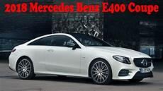 2018 mercedes e400 coupe